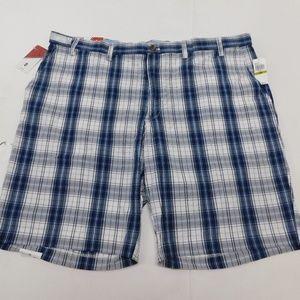 IZOD 44 Blue Casual Shorts  Cotton